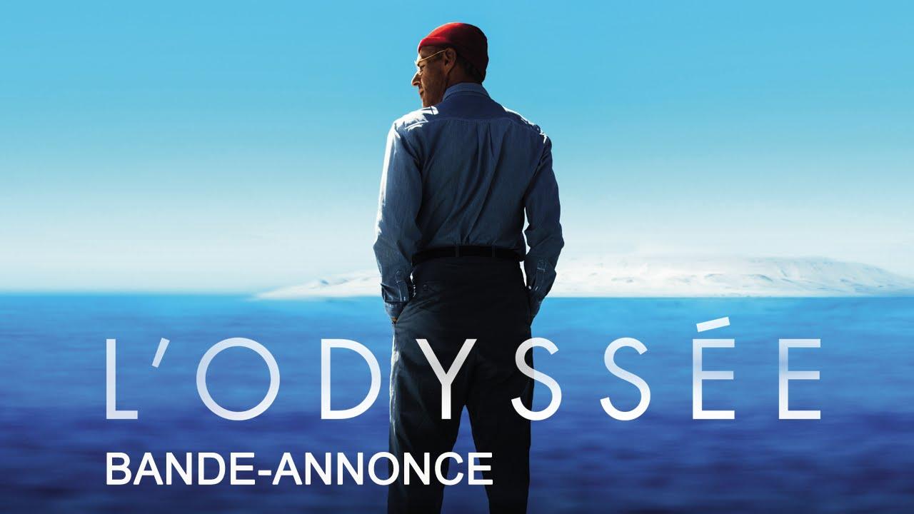 La Odisea (L'Odyssée) – Soundtrack, Tráiler