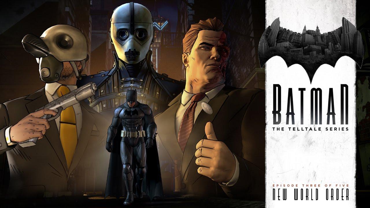 Tráiler – Batman: The Telltale Series (PC, PS4, XB1, Mac, iOS, Android)