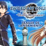 Sword Art Online: Hollow Realization (PC, PS4, PS Vita) – Soundtrack, Tráiler