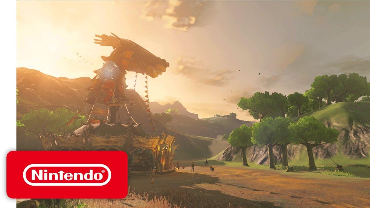 Tráiler – The Legend of Zelda: Breath of the Wild (Wii U, NX)