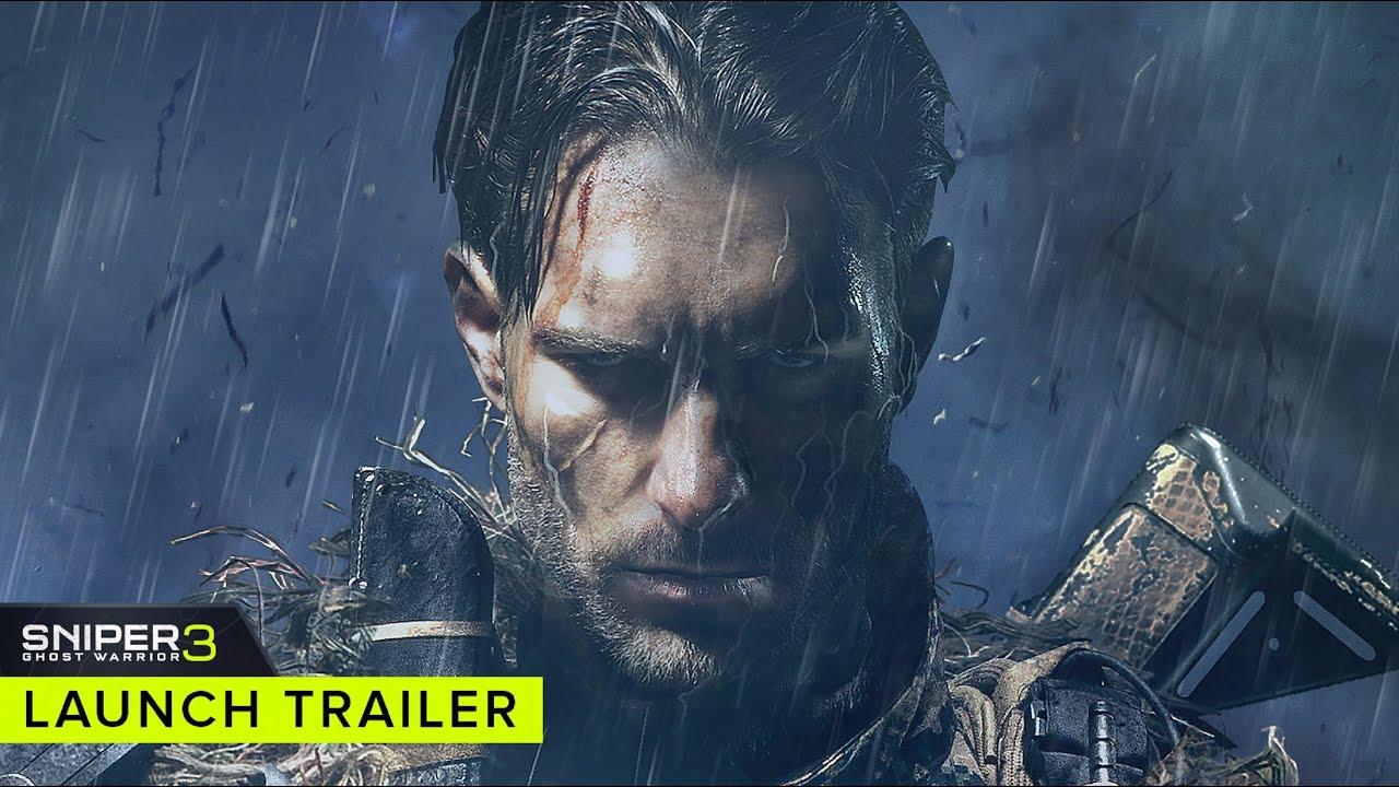 Sniper Ghost Warrior 3 (PC, PS4, XB1) – Soundtrack, Tráiler