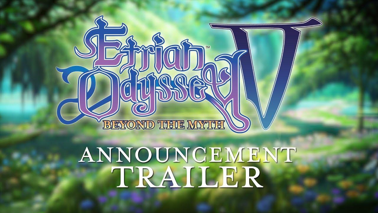 Etrian Odyssey V: Beyond the Myth (3DS) – Soundtrack, Tráiler