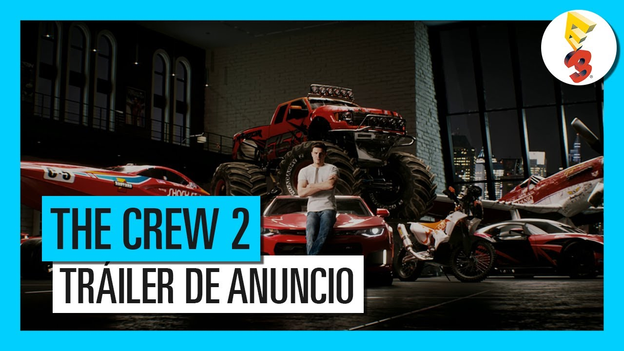 the crew 2 pc ps4 xb1 tr iler dosis media. Black Bedroom Furniture Sets. Home Design Ideas