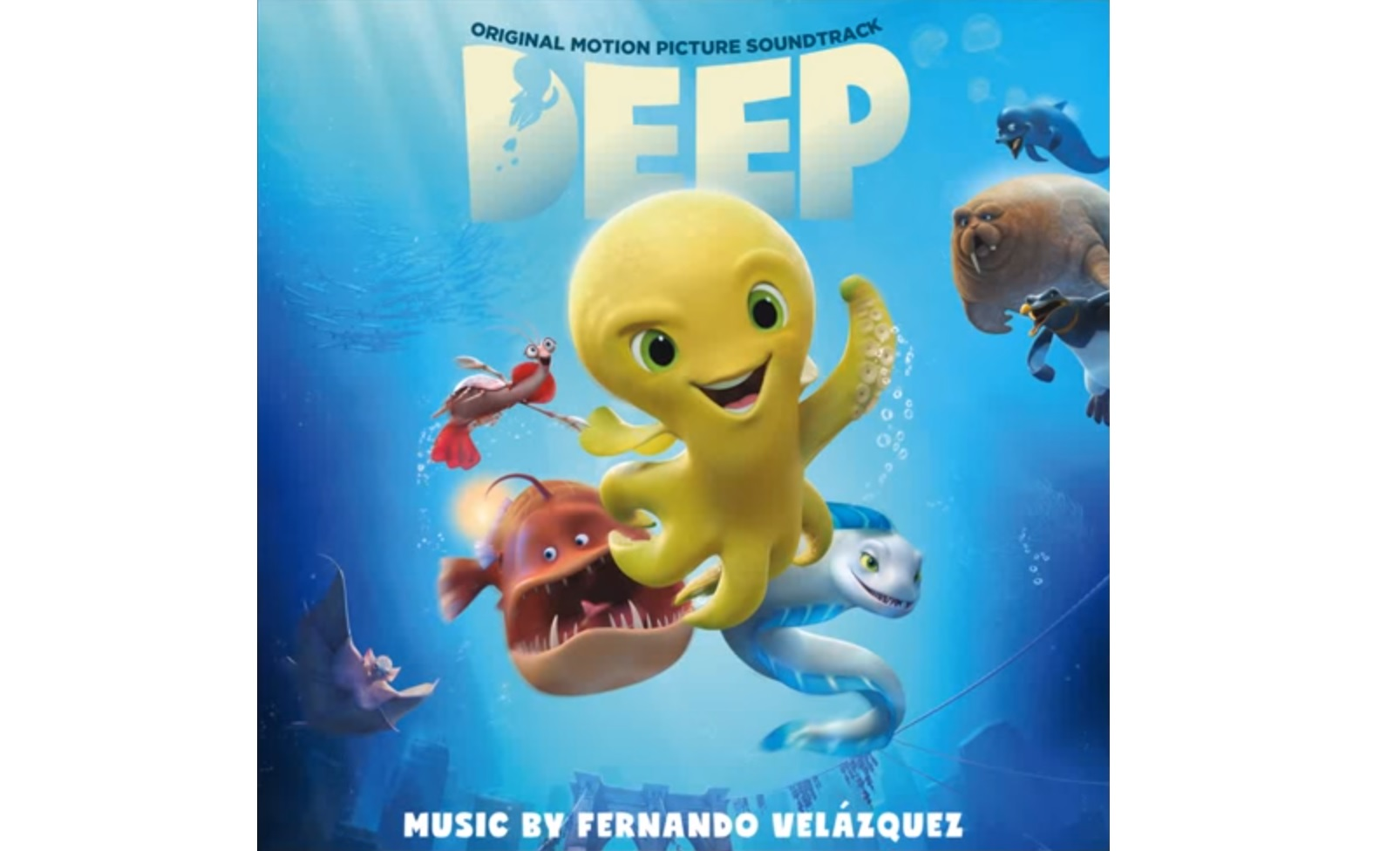 Deep: El Pulpo – Soundtrack, Tráiler