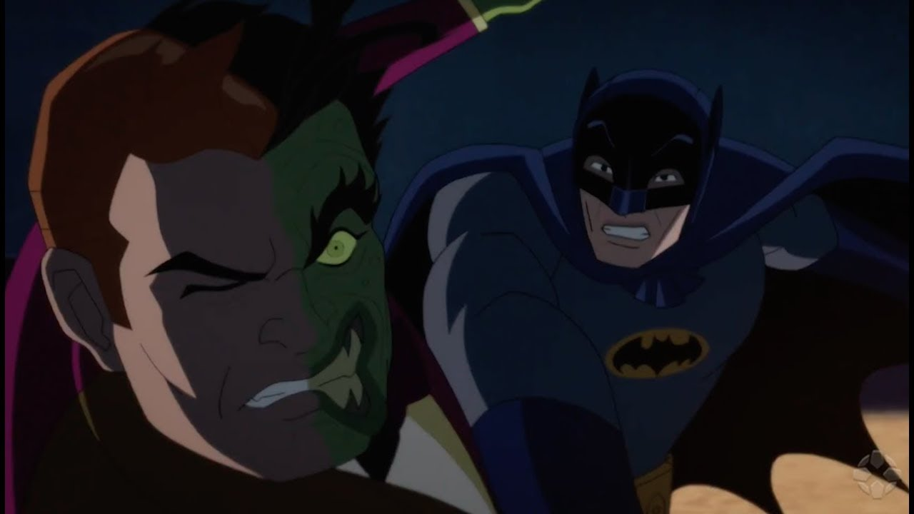Batman VS. Dos Caras (Batman vs. Two-Face) – Soundtrack, Tráiler
