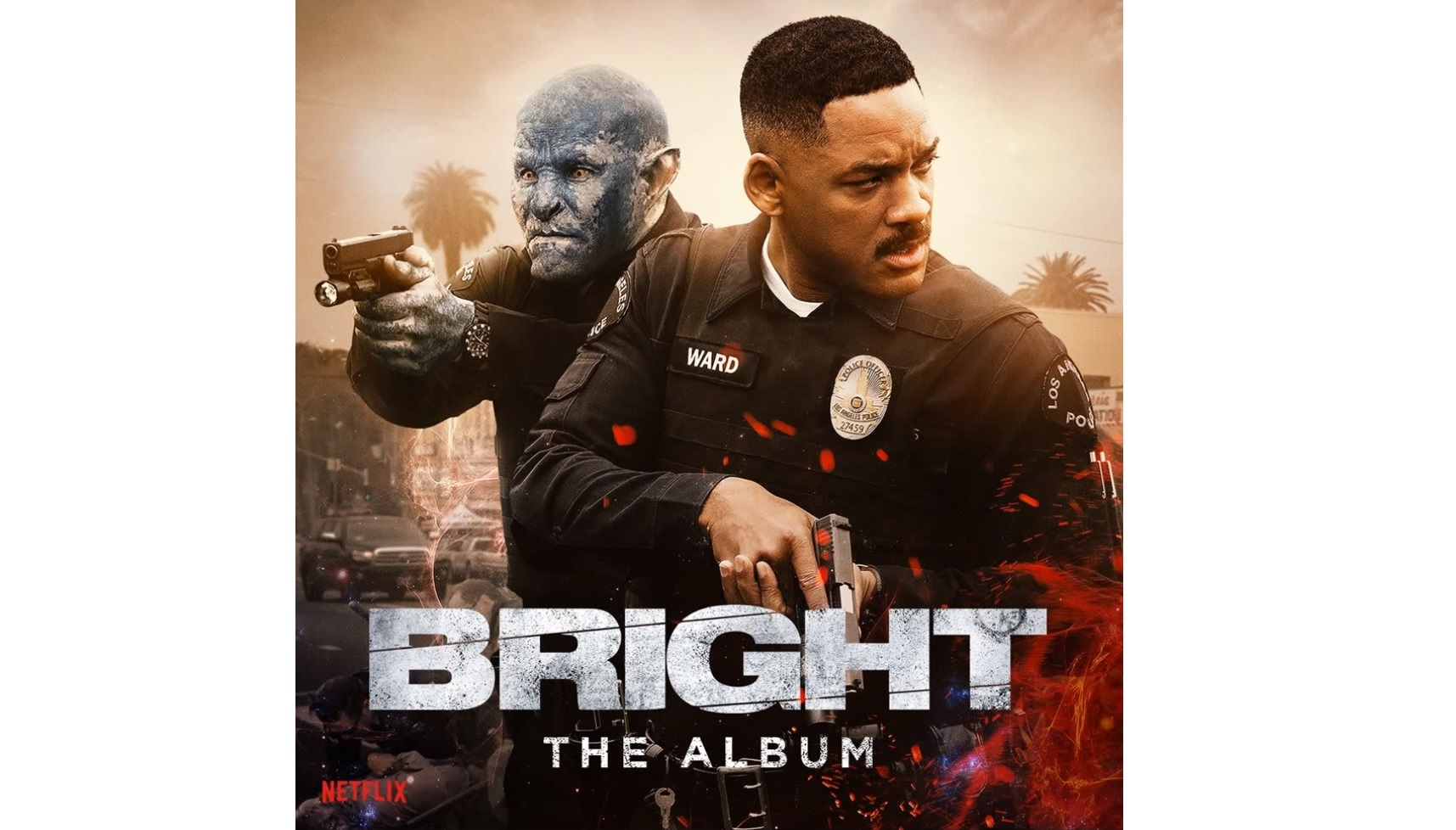 Bright – Soundtrack, Tráiler