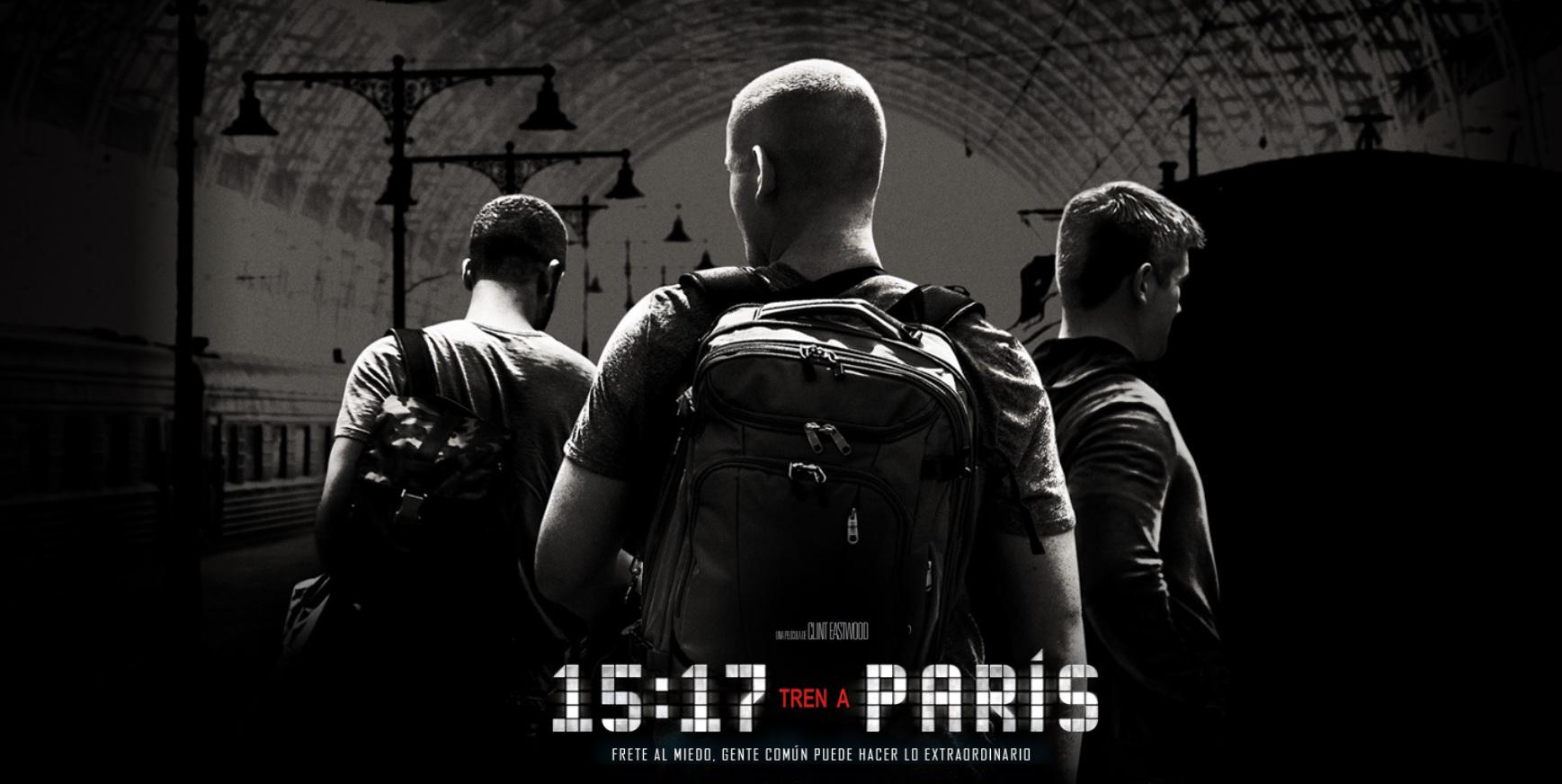 15:17 Tren a Paris (The 15:17 to Paris) – Soundtrack, Tráiler