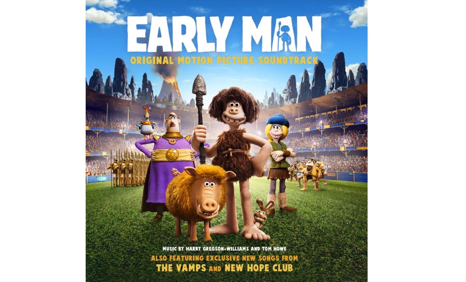 El Cavernícola (Early Man) – Soundtrack, Tráiler