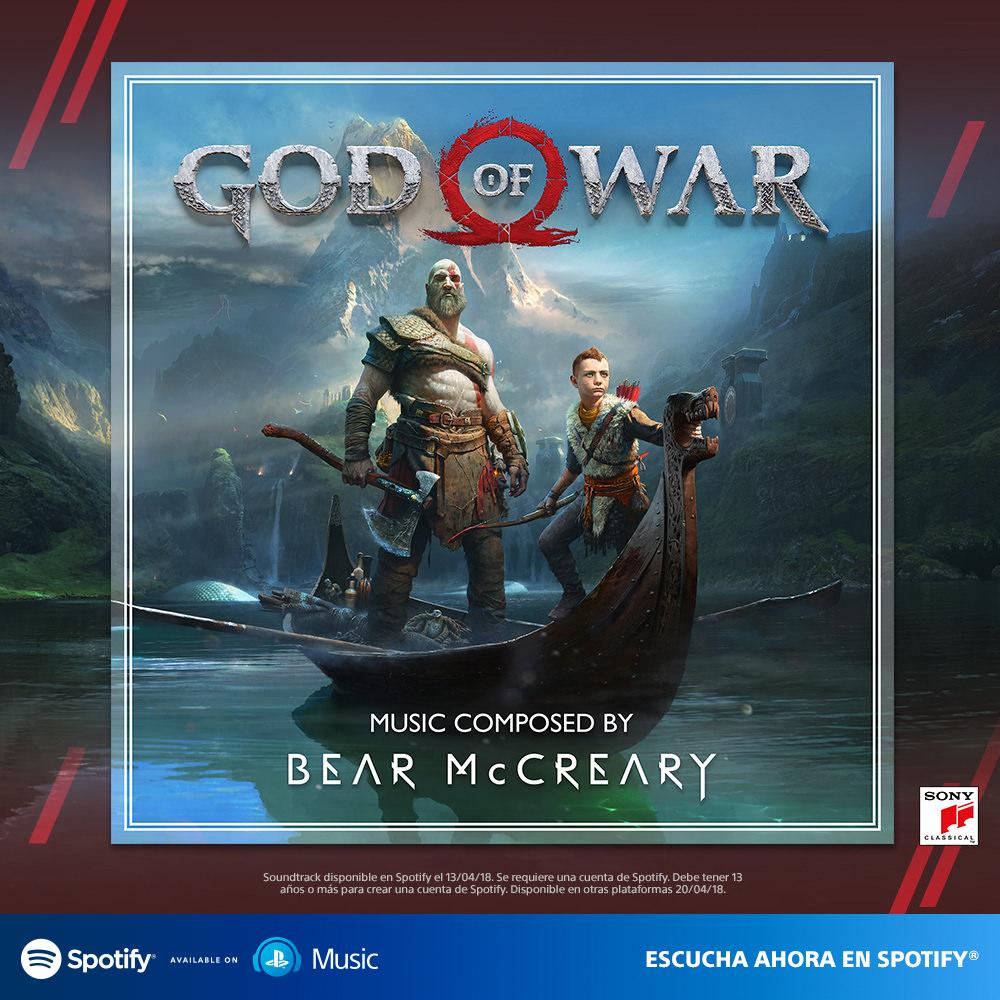 God Of War (PS4) – Soundtrack, Tráiler