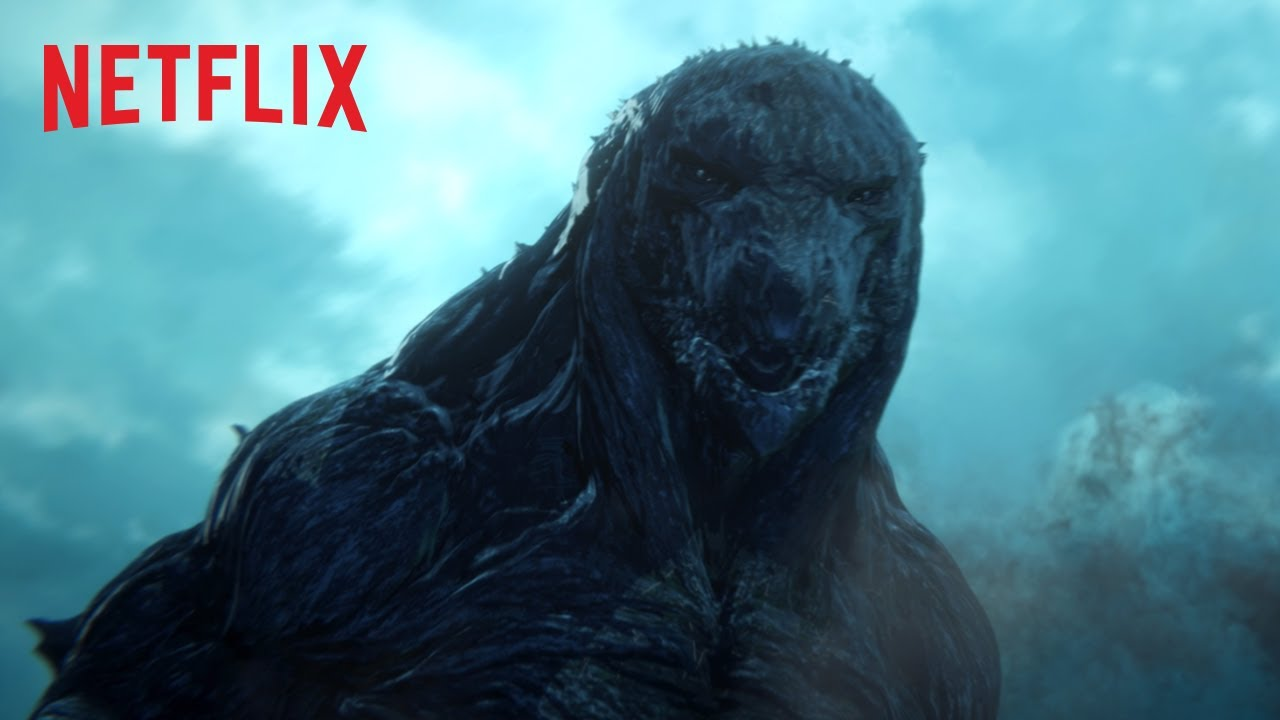 Godzilla: Planeta de Monstruos (Gojira: Kaiju Wakusei) – Soundtrack, Tráiler
