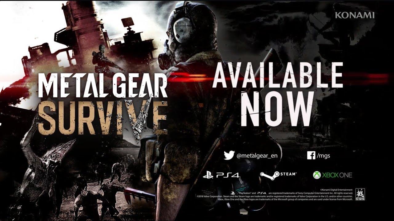 Metal Gear Survive (PC, PS4, XB1) – Soundtrack, Tráiler
