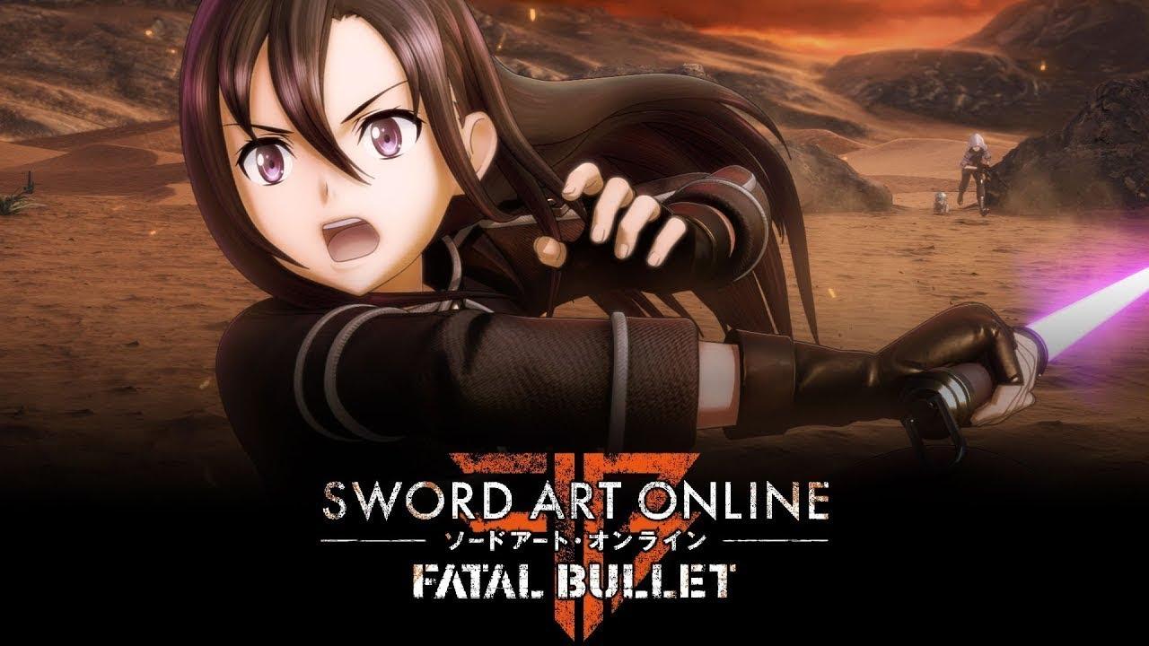 Sword Art Online: Fatal Bullet (PC, PS4, XB1) – Soundtrack, Tráiler