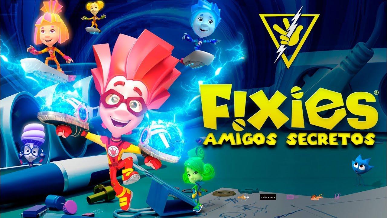 TheFixies: Amigos Secretos (The Fixies: Top Secret) – Soundtrack, Tráiler