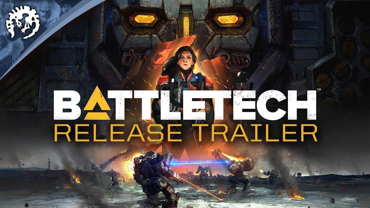 BattleTech (PC) – Soundtrack, Tráiler