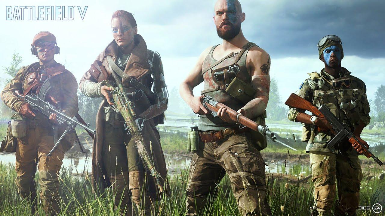 Battlefield V (PC, PS4, XB1) – Tráiler