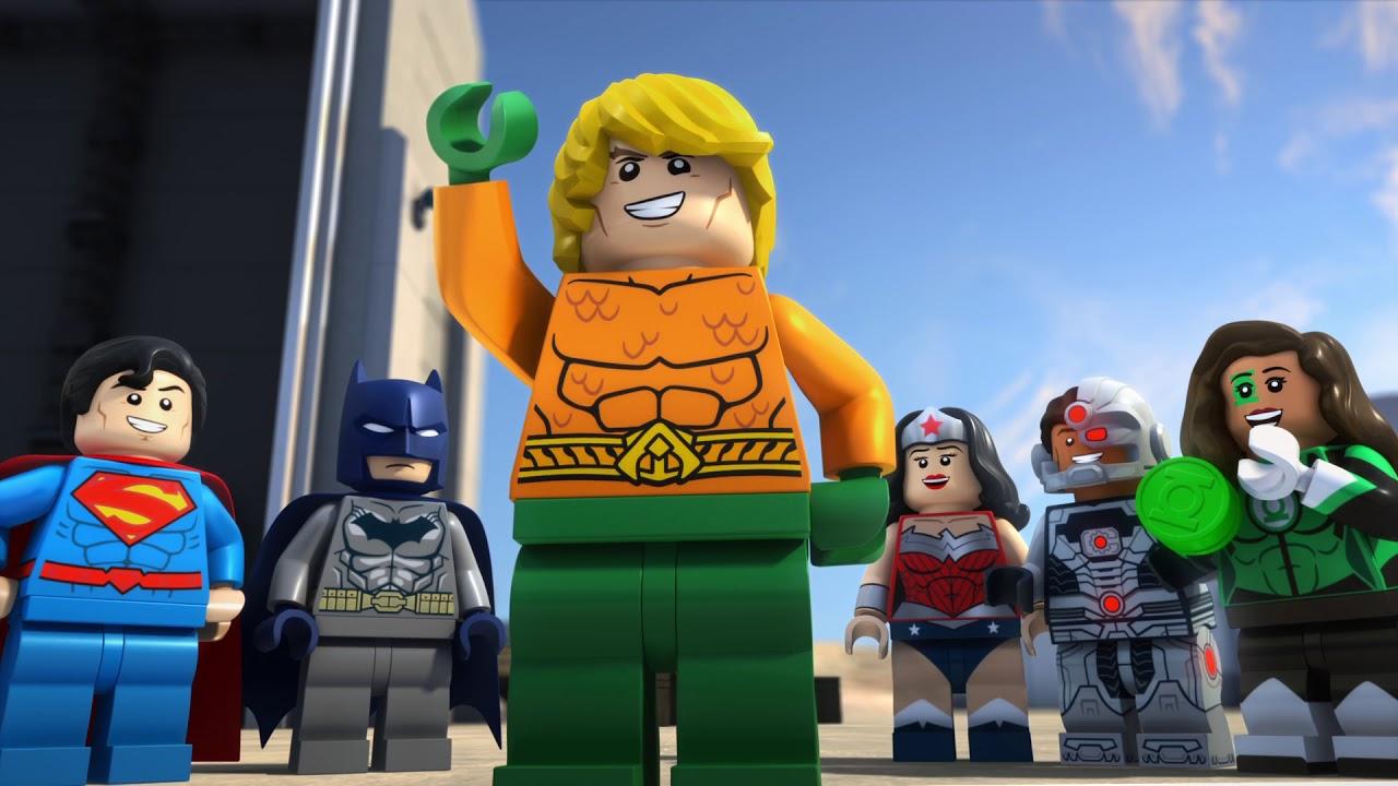 LEGO DC Comics Súper Héroes: Aquaman al rescate de Atlantis (LEGO DC Comics Super Heroes: Aquaman – Rage of Atlantis) – Tráiler