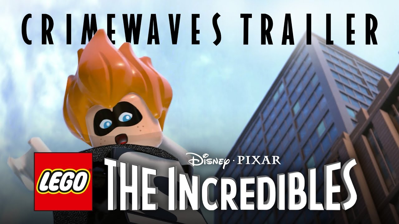 LEGO Los Increíbles (LEGO The Incredibles), PC, PS4, Switch, XB1 – Tráiler