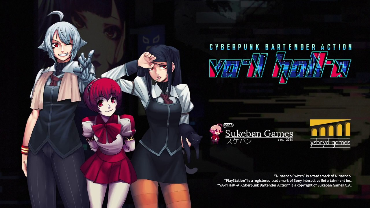 VA-11 HALL-A (PC, PSVita, PS4, Switch) – Soundtrack, Tráiler
