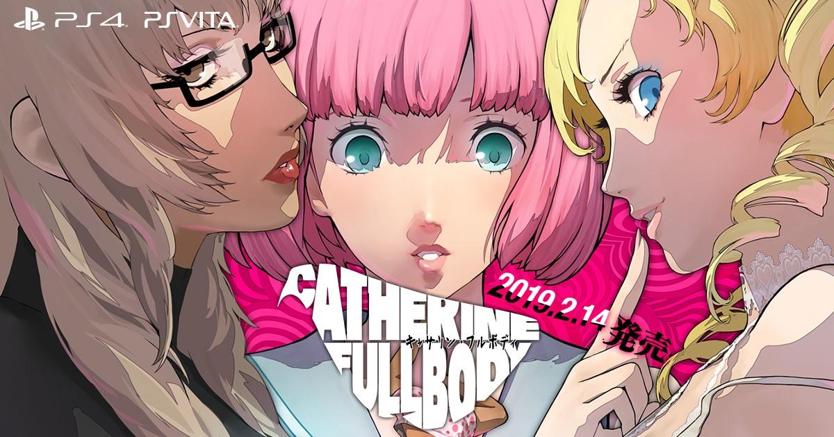 Catherine: Full Body (PS4, PS Vita) – Tráiler