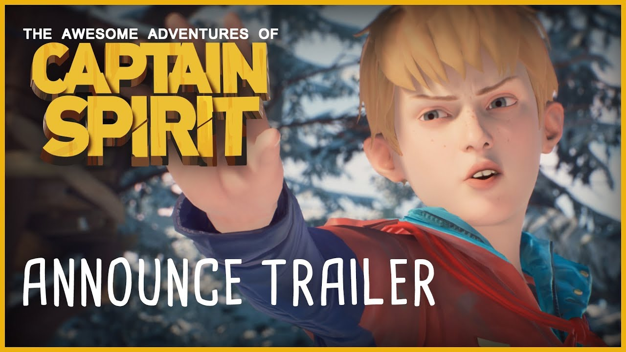 The Awesome Adventures of Captain Spirit (PC, PS4, XB1) – Tráiler