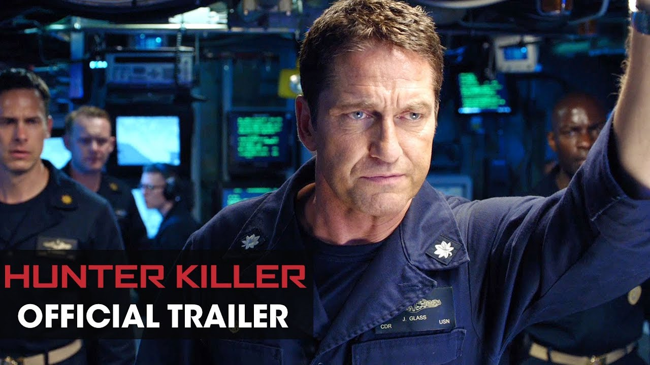 Misión Submarino (Hunter Killer) – Soundtrack, Tráiler