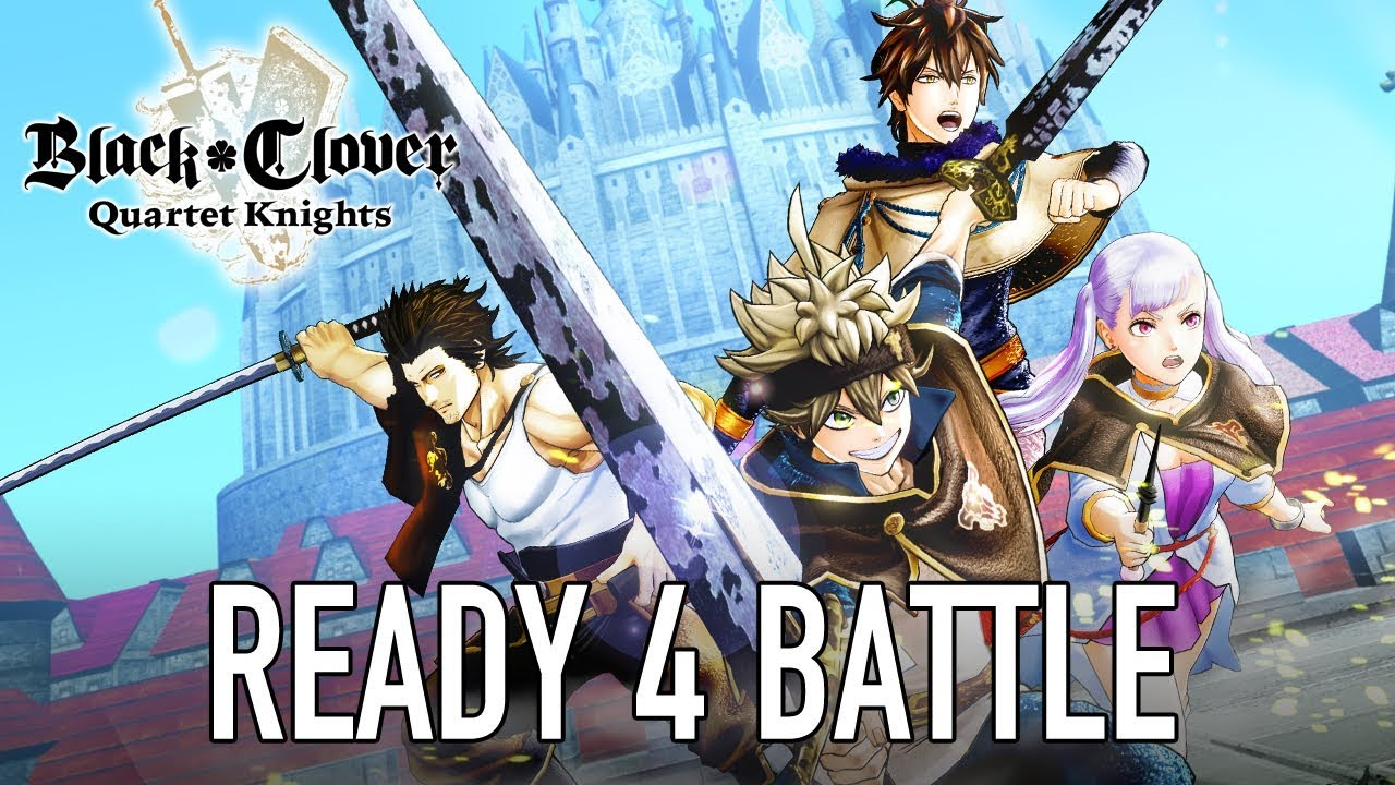 Black Clover: Quartet Knights (PS4, PC) – Tráiler