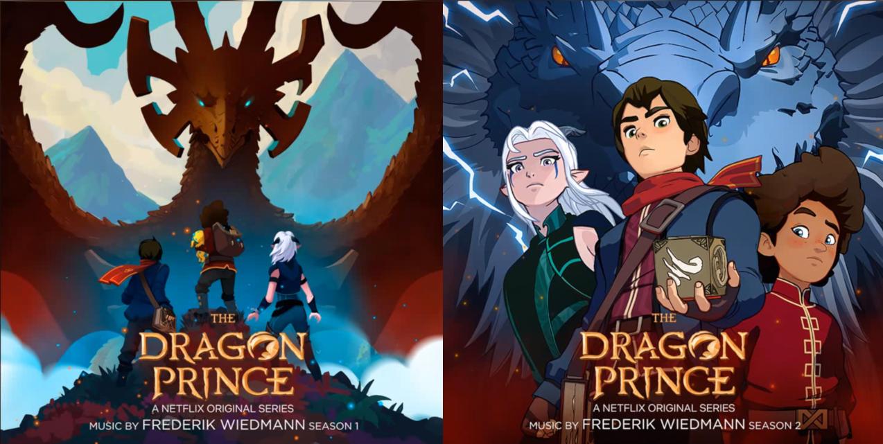 Príncipe de los dragones (The Dragon Prince), Serie de TV – Soundtrack, Tráiler