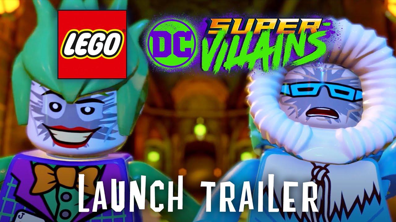 LEGO DC Super-Villains – Tráiler