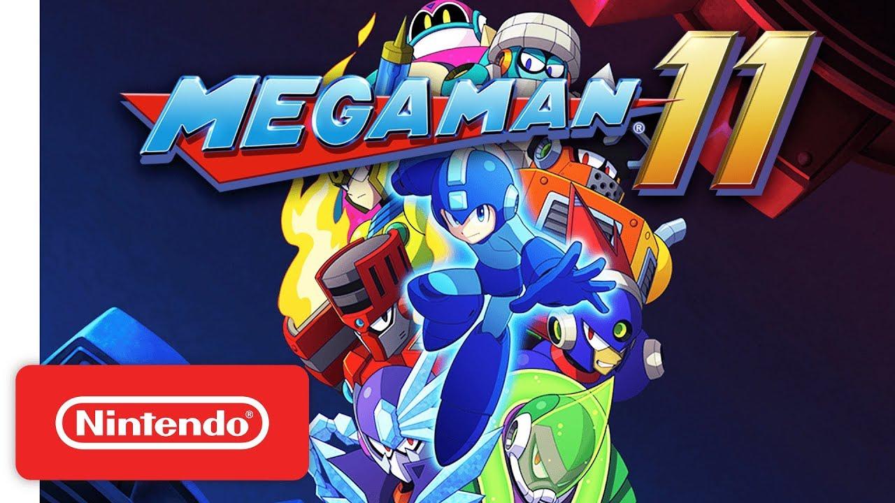 Mega Man 11 (PC, PS4, Switch, XB1) – Tráiler