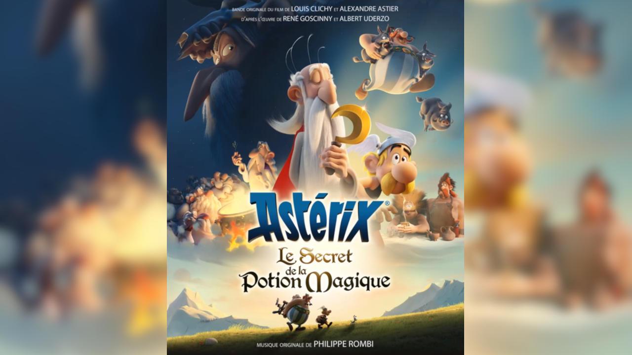 Astérix: El secreto de la poción mágica (Astérix: Le Secret de la Potion Magique) – Soundtrack, Tráiler