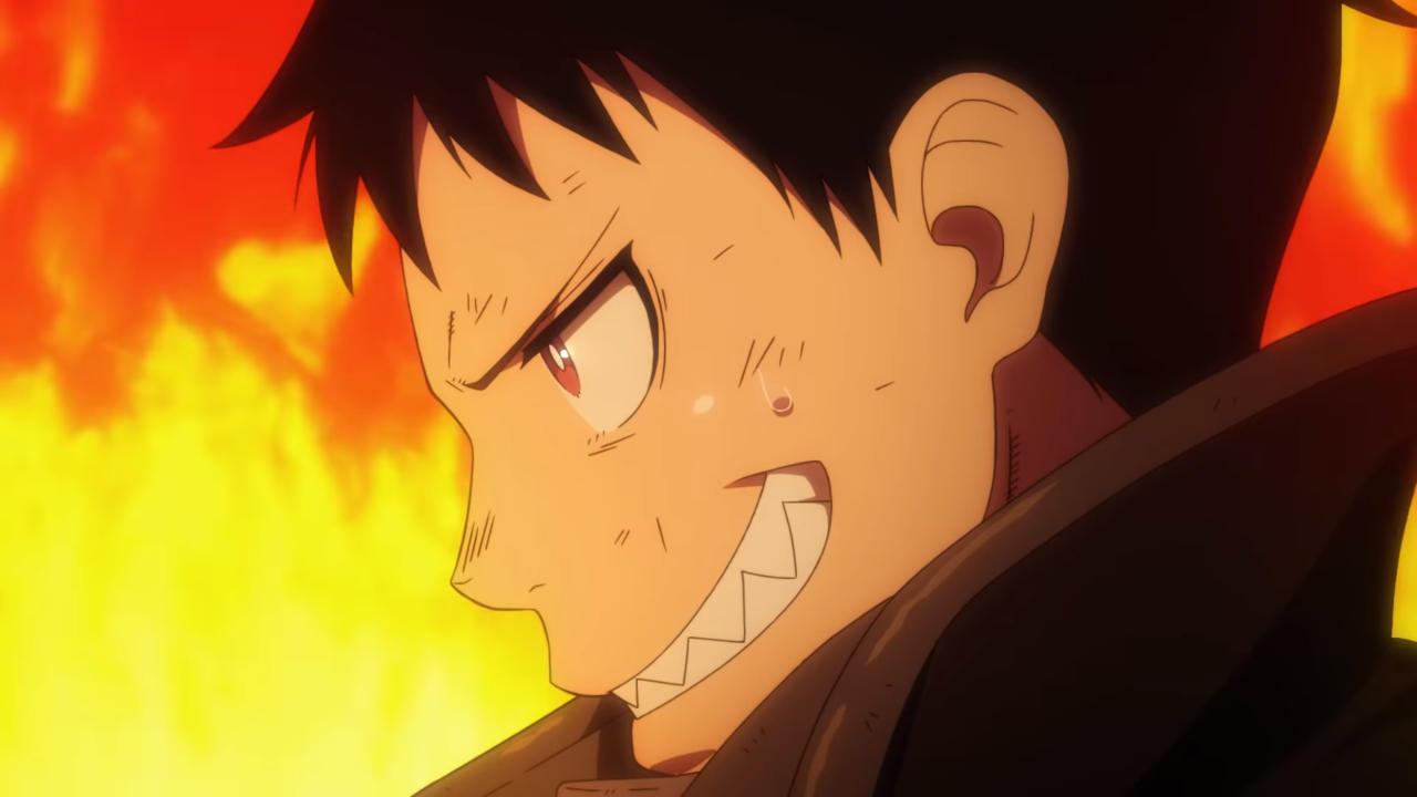 Fire Force (En En no Shōbōtai), Anime – Tráiler