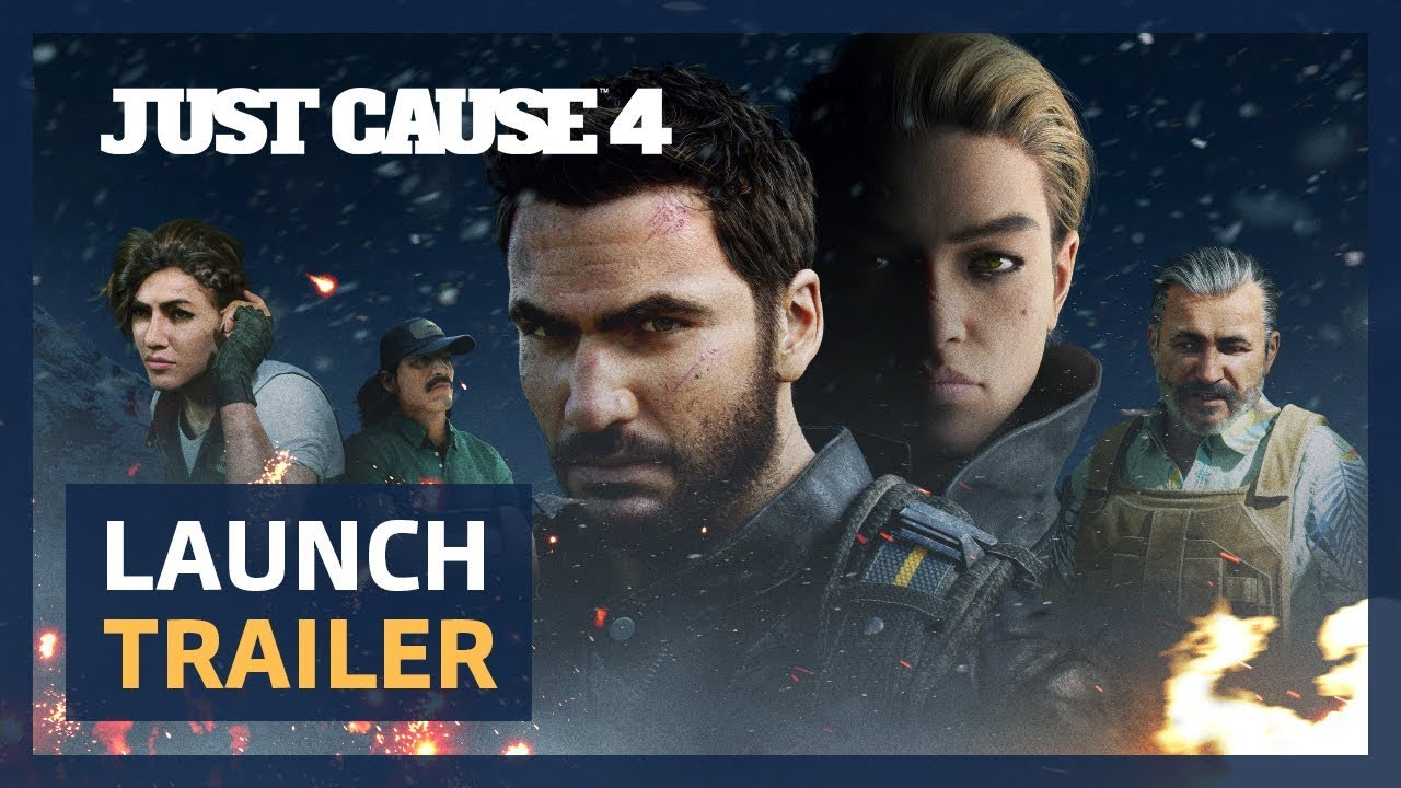 Just Cause 4 (PC, PS4, XB1) – Tráiler