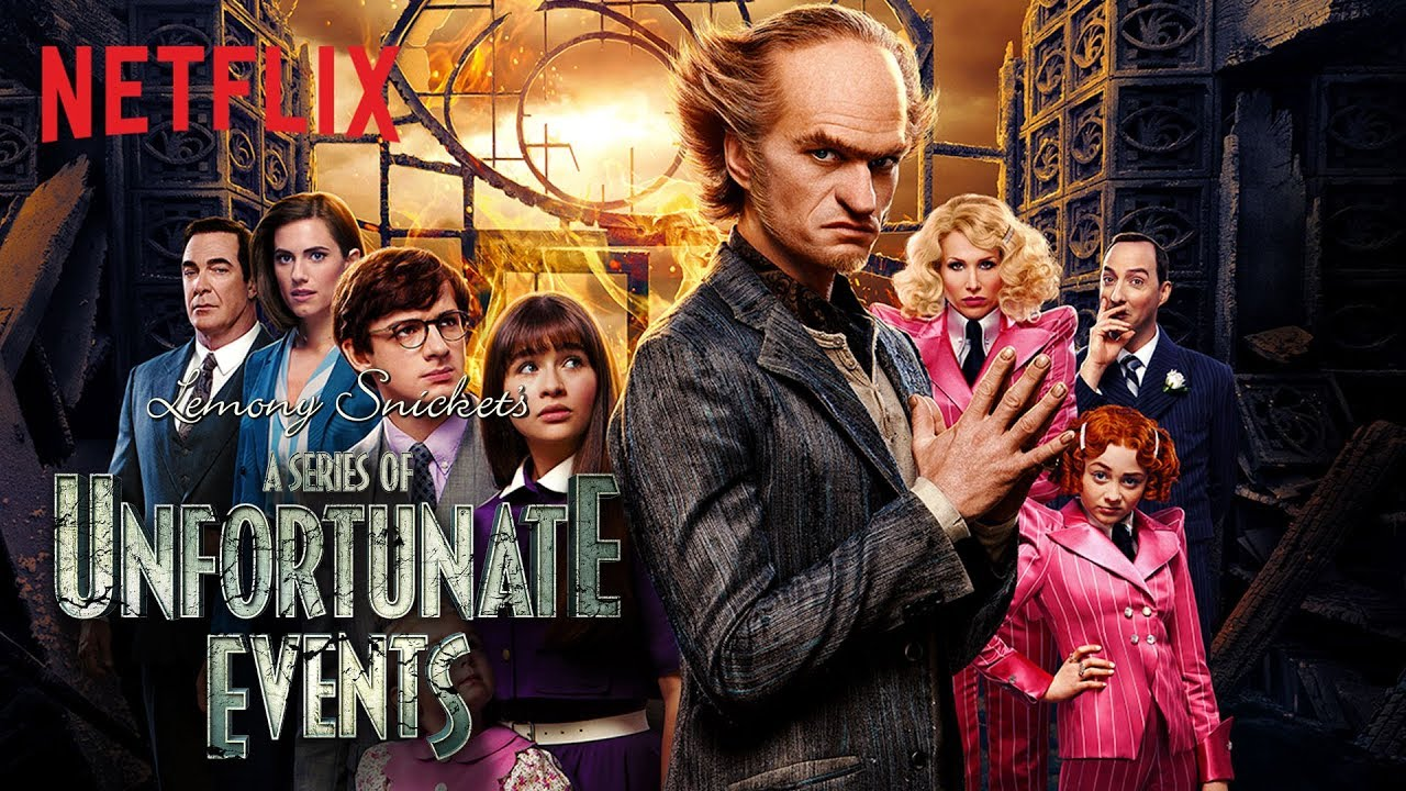 Una Serie de Eventos Desafortunados (A Series of Unfortunate Events), Serie de TV – Tráiler