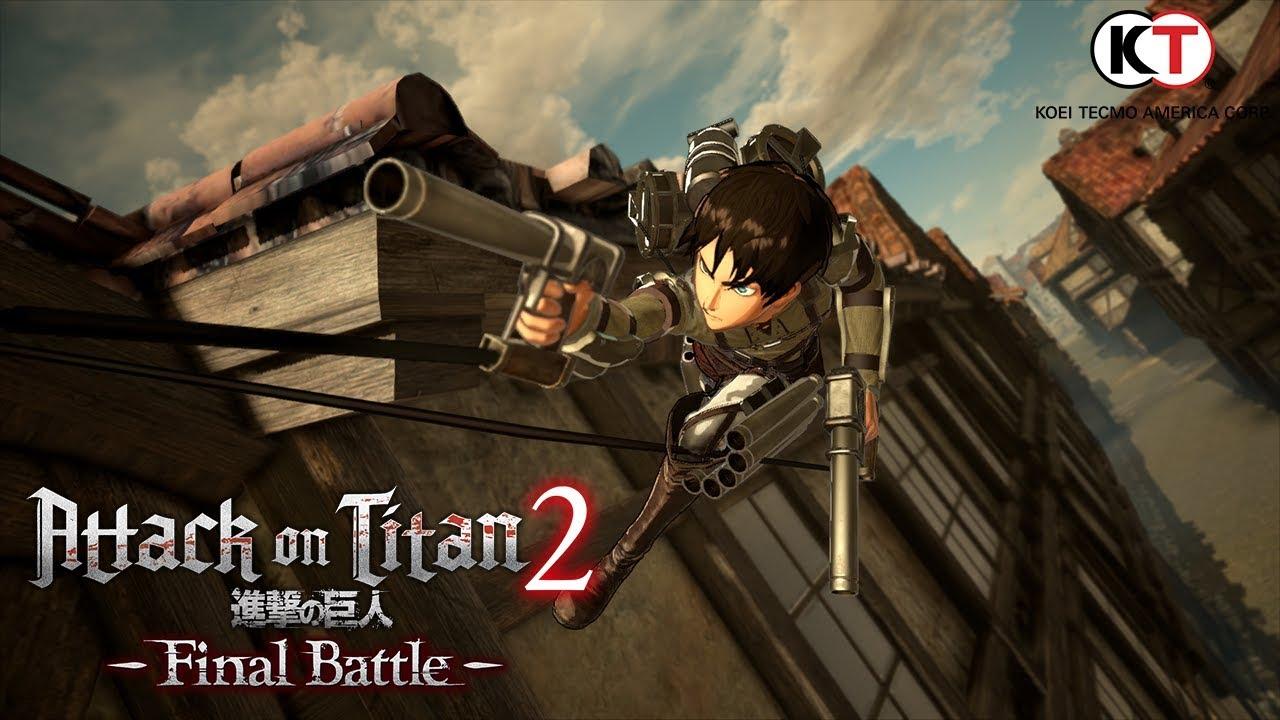 Attack on Titan 2: Final Battle (PC, PS4, Switch, XB1) – Tráiler