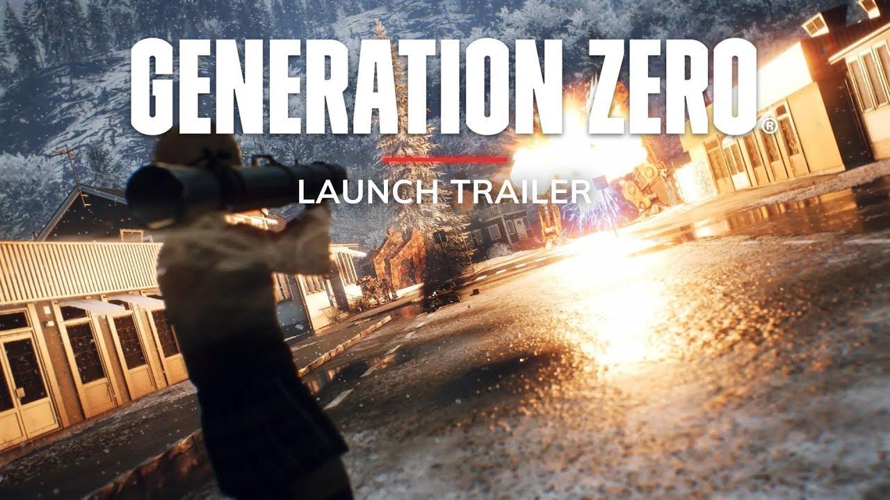 Generation Zero (PC, PS4, XB1) – Tráiler