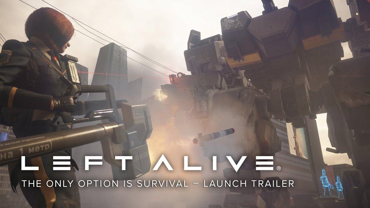 Left Alive (PC, PS4) – Tráiler