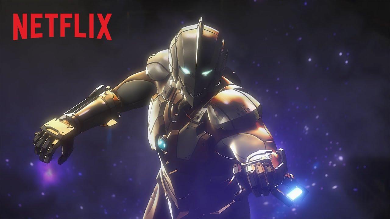 Ultraman (Serie Anime) – Tráiler