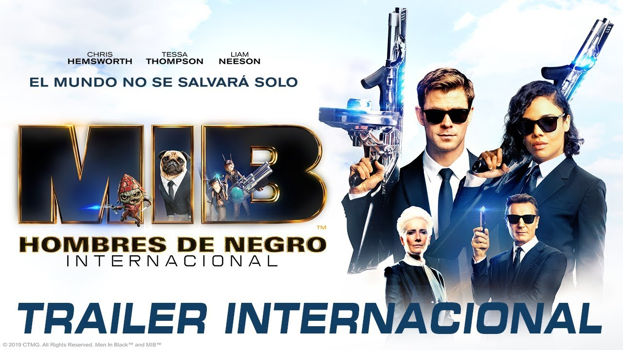 Hombres de Negro: Internacional (Men in Black International) – Soundtrack, Tráiler