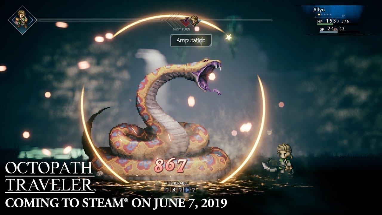 Octopath Traveler (PC, Switch) – Soundtrack, Tráiler