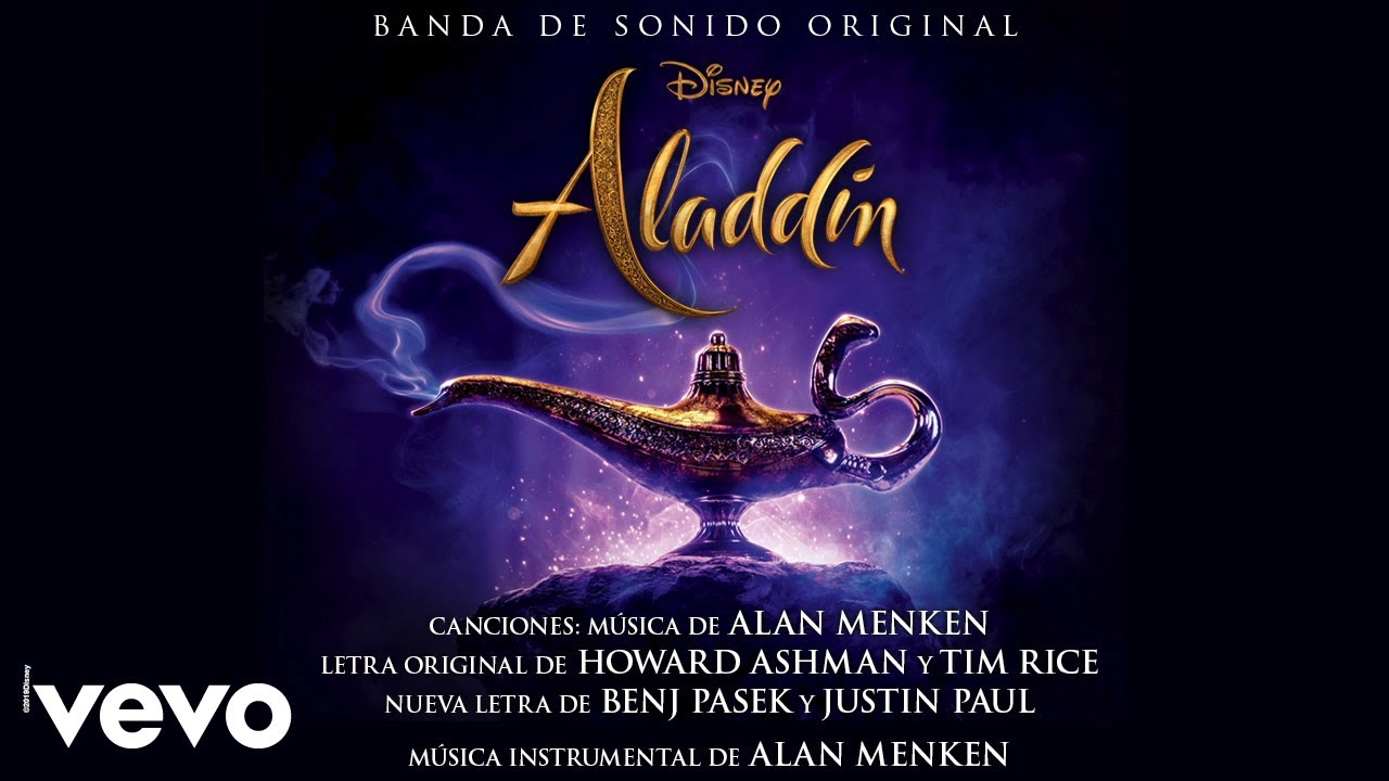 Aladdín (Filme de Imagen Real) – Soundtrack, Tráiler