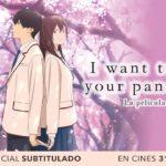 I Want to Eat Your Pancreas: La Película (Kimi no Suizō o Tabetai), Filme Animado – Soundtrack, Tráiler