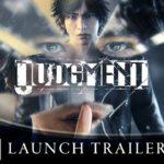 Judgment (PS4) – Soundtrack, Tráiler