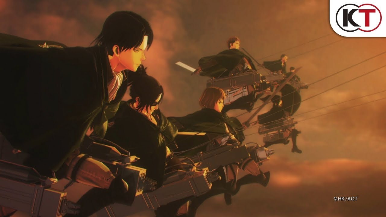 Attack on Titan 2: Final Battle (PC, PS4, Switch, XB1) – Soundtrack, Tráiler