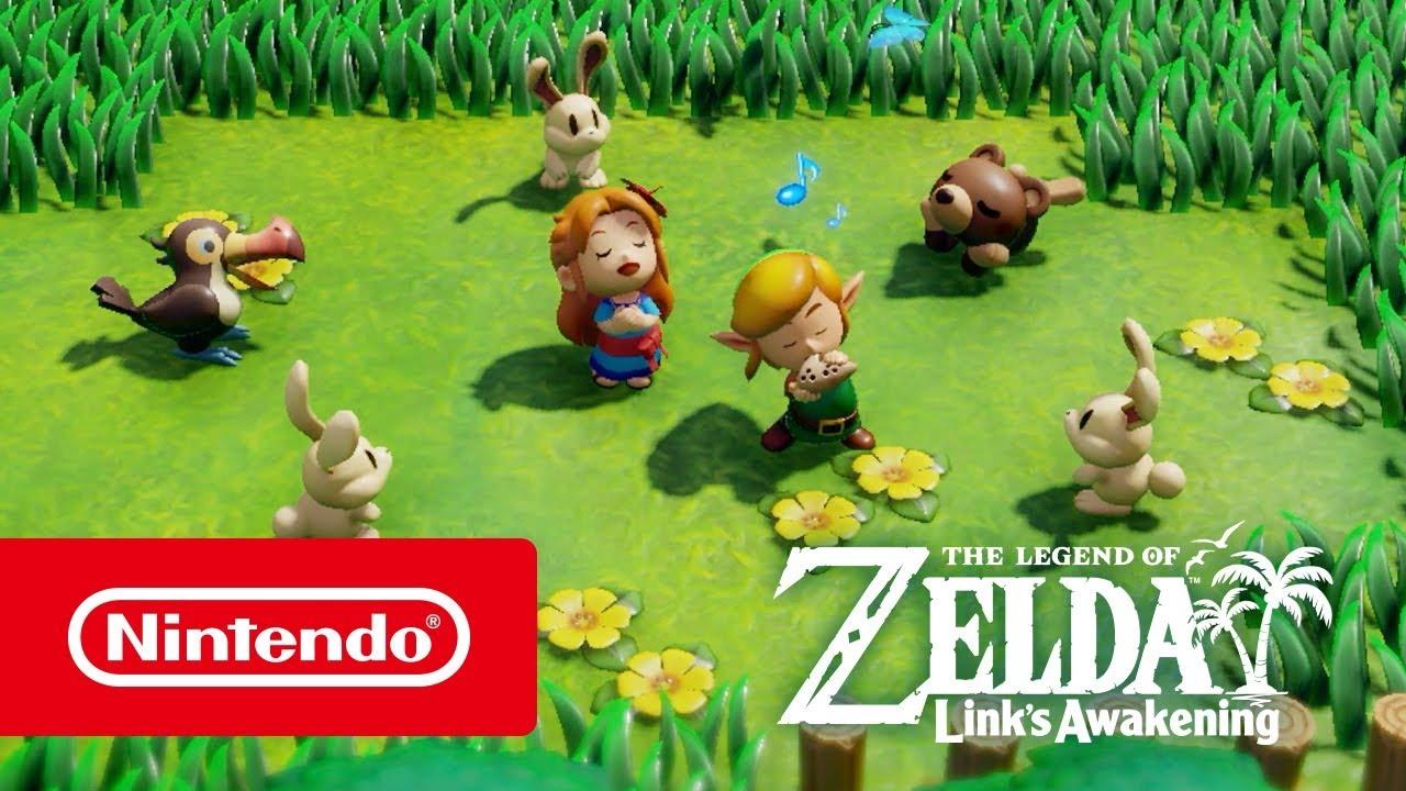 The Legend of Zelda: Link's Awakening (Switch) – Tráiler